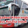 Cara Mengetahui Jadwal Keberangkatan dan Harga Tiket Bus Rosalia Indah Secara Online