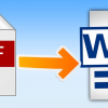 Cara Mudah dan Cepat Mengubah File PDF ke Word, Exel dan PPT Hanya 1 Menit Selesai